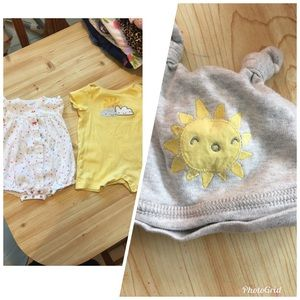 Other - 2 outfits. Excellent condition! Matching hat